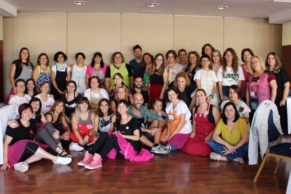 Alumnas del taller de Maraki en Valencia