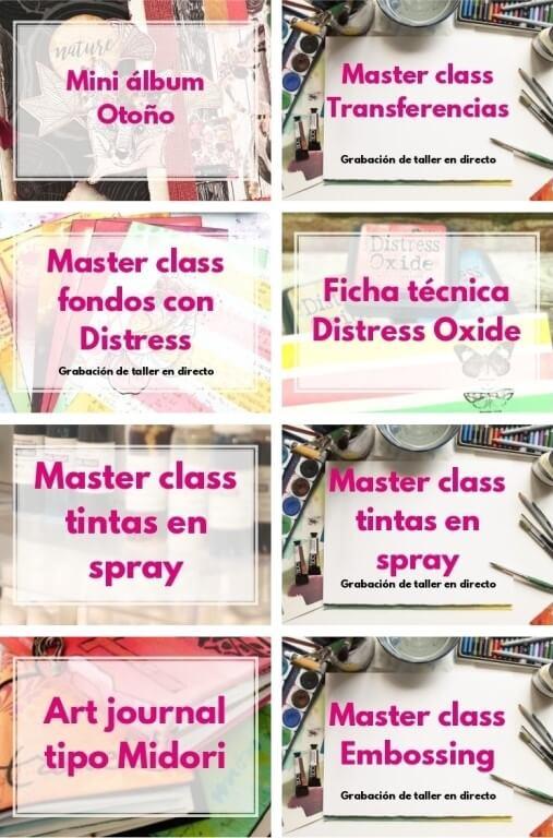 talleres de scrap y mix media online