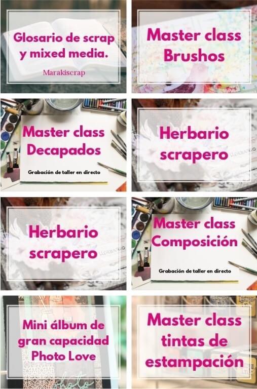 talleres de scrapbooking online